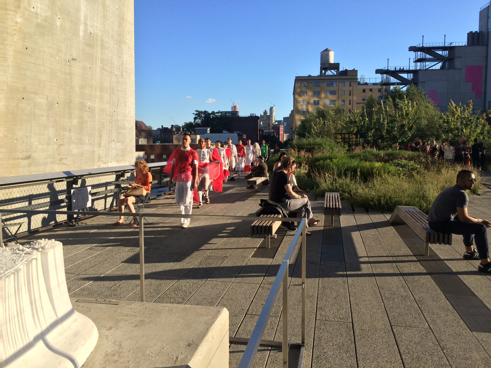 Copy of line high line